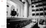 Rehearsals for Rossini's 'Il Barbiere di Siviglia' with Ruggero Raimondi on the stage, Teatro Comunale di Ferrara, Ferrara, Italy 1995 © courtesy Contrasto/Marco Caselli Nirmal